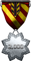 Service Commendation Silver