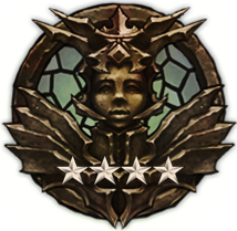 Nephalem Warrior - Ribbon, 4 Stars