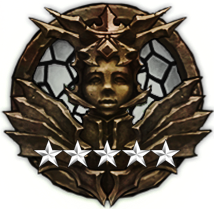 Nephalem Warrior - Platinum, 5 Stars
